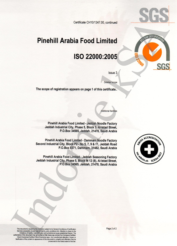 Saudi Standards, Metrology and Quality Certificate